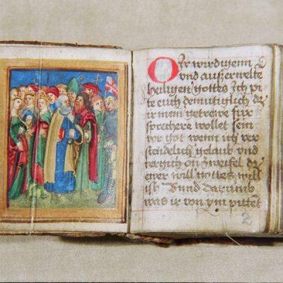 Największa inajmniejsza książka wzbiorach Książnicy Cieszyńskiej