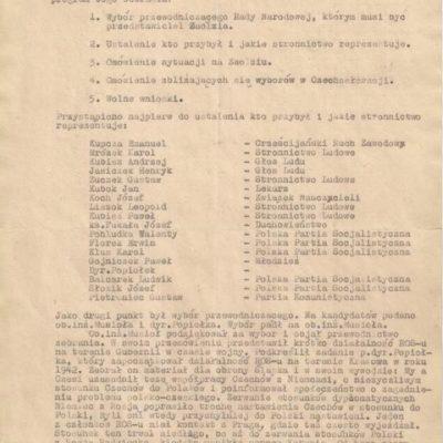 Henryk Jasiczek apolska irredenta naZaolziu w1945