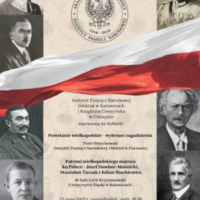 Wielkopolski marsz ku Polsce. VIII sesja wykładowa Akademii Niepodległości