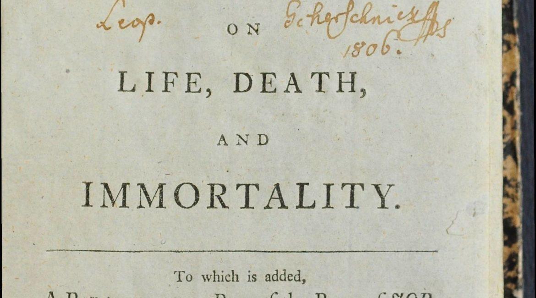 Strona tytułowa Nocy Younga z dodatkiem krótkiej parafrazy Księgi Hioba (1770)