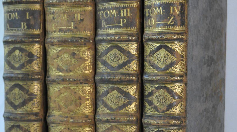 Całość-4-tomowego-wydania-Słownika-z-1740-r.