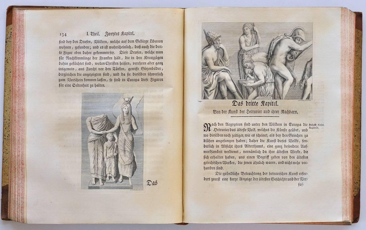 Początek rozdziału poświęconego historycznemu omówieniu dziejów sztuki etruskiej