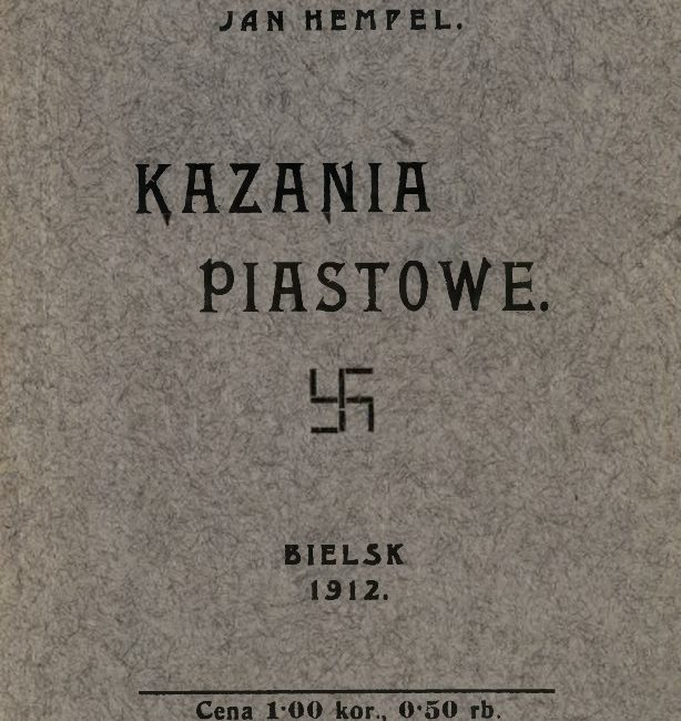 Jan Hempel: Kazania Piastowe, {Bielsko 1911]