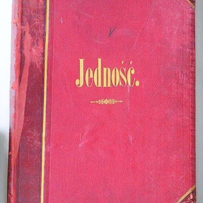 """Księga protokołów """"Jedności"""" przy niemieckim seminarium nauczycielskim w Cieszynie z lat 1892–1908 (482 zapisane strony)"""