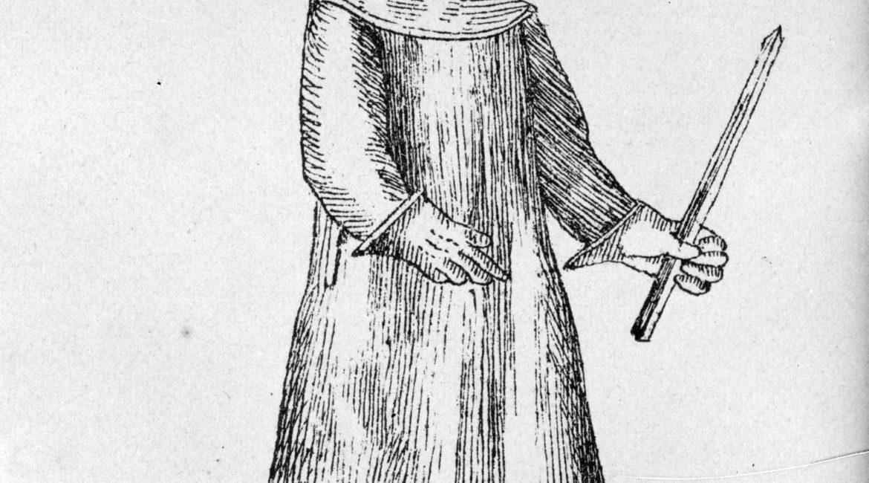 Doktor dżuma - strój lekarza mającego styczność z chorymi na dżumę