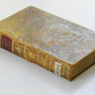 Oprawa paryskiego wydania Considérations sur les causesde la grandeur des Romains, et leur décadence (1795)