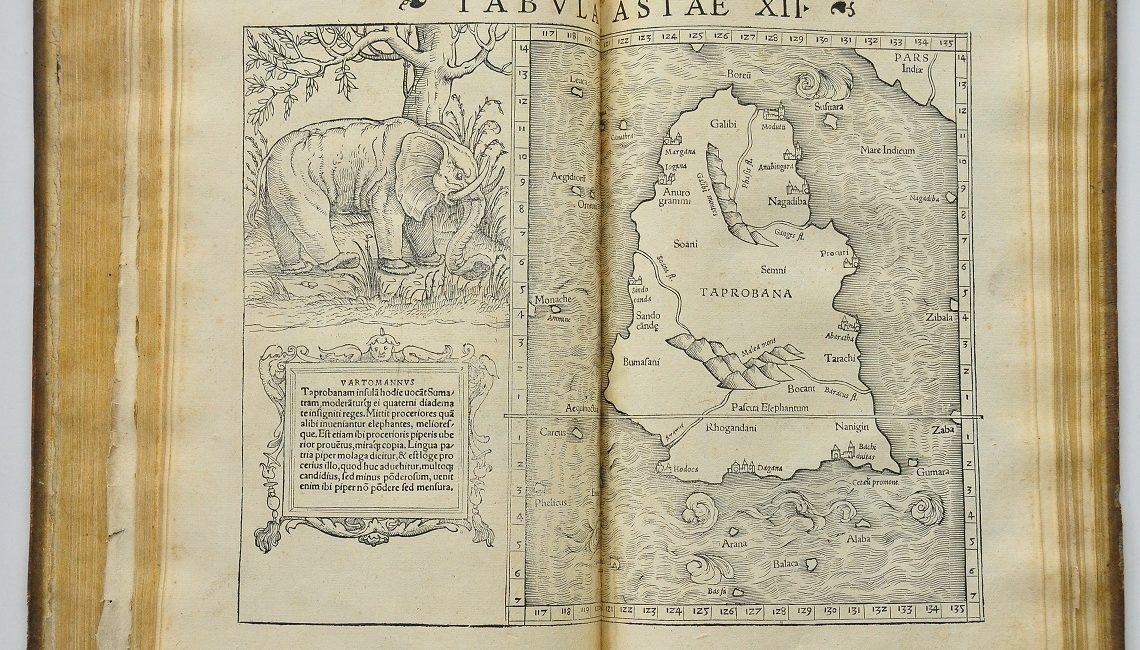 Tabula Asiae - mapa starożytnej Azji