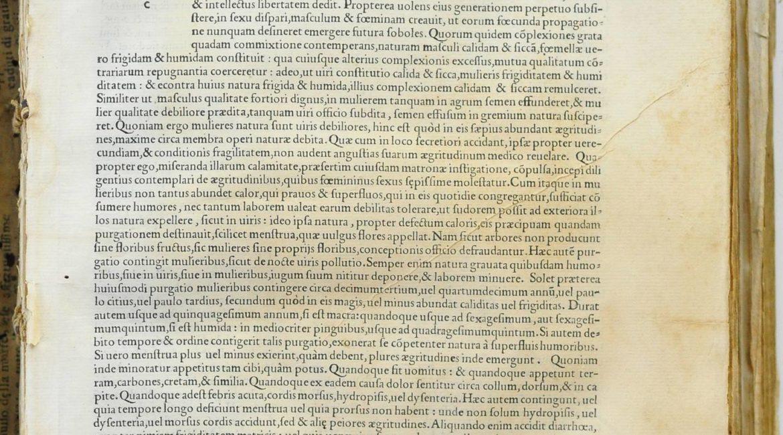 Trotulae, Cvrandarvm aegritvdinum mvliebrivm, ante, in, post partvm liber vnicvs – strona tytułowa